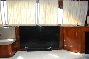 42' Ocean Yachts Super Sport 1991 Starboard Aft Salon TV