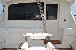 42' Ocean Yachts Super Sport 1991 Cockpit