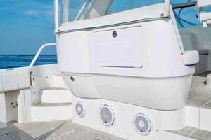 47' Intrepid 475 Sport Yacht 2015 Cockpit