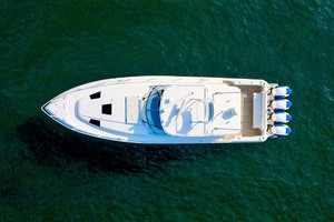 47' Intrepid 475 Sport Yacht 2015 Overhead View