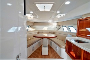 47' Intrepid 475 Sport Yacht 2015 Salon and Galley