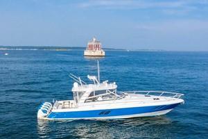 47' Intrepid 475 Sport Yacht 2015 Main Profile