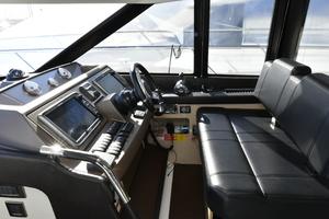 50' Prestige 500 Flybridge 2016 LowerHelmStation