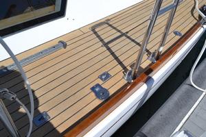 76' Admiral Custom Performance Sailing Yacht 1999 DECK