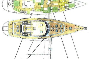 76' Admiral Custom Performance Sailing Yacht 1999 LAYOUT