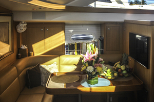 76' Admiral Custom Performance Sailing Yacht 1999 GALLEY DINETTE