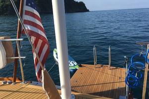 76' Admiral Custom Performance Sailing Yacht 1999 SWIM STEP
