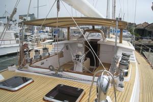76' Admiral Custom Performance Sailing Yacht 1999 COCKPIT