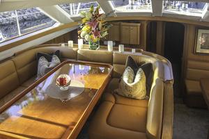 76' Admiral Custom Performance Sailing Yacht 1999 SALON DINING