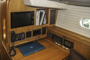 76' Admiral Custom Performance Sailing Yacht 1999 NAV STATION