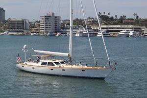 76' Admiral Custom Performance Sailing Yacht 1999 MEHETABEL EXTERIOR