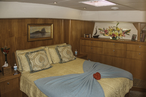 76' Admiral Custom Performance Sailing Yacht 1999 MASTER STATEROOM