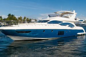 70' Azimut Flybridge 2011 Profile Port