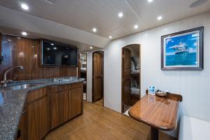 53' Viking 52 Sport Tower 2018 Galley/ Salon