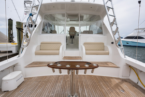 52' Viking 52 Sport Tower 2018 Cockpit
