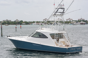 52' Viking 52 Sport Tower 2018 Port Side Stern