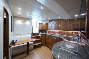 52' Viking 52 Sport Tower 2018 Galley/ Salon