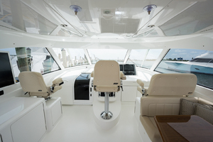 52' Viking 52 Sport Tower 2018 Helm Deck