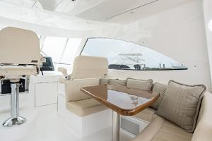 53' Viking 52 Sport Tower 2018 Helm Deck