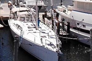 49' Beneteau America 49 2007 Le Sirenuse in her slip in Miami