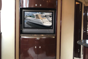 54' Sea Ray 52 Sundancer 2007 TV in the salon