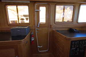 59' Selene  2008 Pilothouse Dutch Door