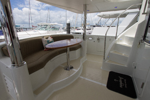 59' Selene  2008 Aft Seating