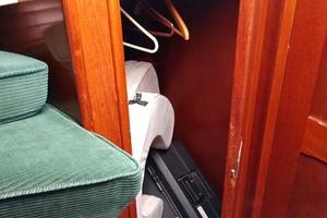 40' Hinckley Bermuda 40 MK III Sloop 1979 Master Cabin Hanging Locker