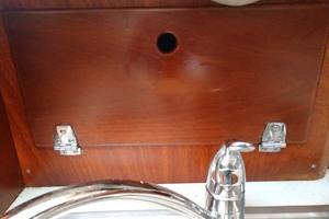 40' Hinckley Bermuda 40 MK III Sloop 1979 Galley Sink Storage