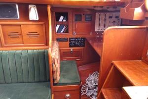 40' Hinckley Bermuda 40 MK III Sloop 1979 Navigation Station
