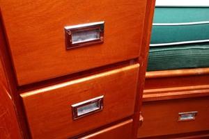 40' Hinckley Bermuda 40 MK III Sloop 1979 Master Cabin Dresser