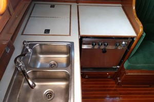 40' Hinckley Bermuda 40 MK III Sloop 1979 Galley Counter