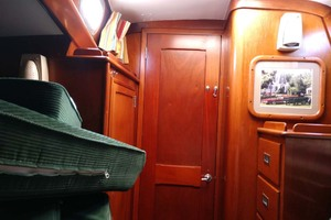 40' Hinckley Bermuda 40 MK III Sloop 1979 Master Cabin