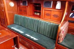 40' Hinckley Bermuda 40 MK III Sloop 1979 Salon to Starboard