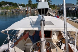40' Hinckley Bermuda 40 MK III Sloop 1979 Stern Looking Forward