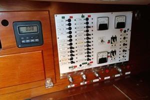 40' Hinckley Bermuda 40 MK III Sloop 1979 Electrical Panel