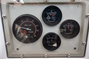 40' Hinckley Bermuda 40 MK III Sloop 1979 Engine Panel
