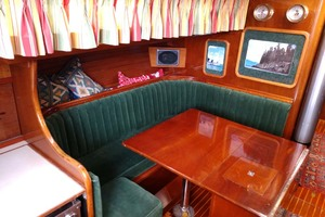 40' Hinckley Bermuda 40 MK III Sloop 1979 Salon to Port