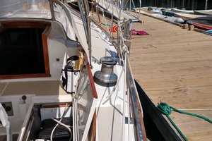 40' Hinckley Bermuda 40 MK III Sloop 1979 Starboard Side Deck