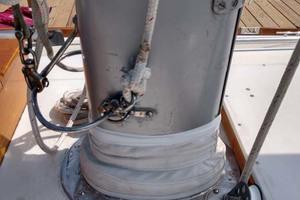 40' Hinckley Bermuda 40 MK III Sloop 1979 Mast Base