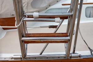 40' Hinckley Bermuda 40 MK III Sloop 1979 Boarding Ladder