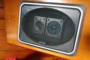 40' Hinckley Bermuda 40 MK III Sloop 1979 Sanyo Stereo Speakers