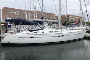 43' Beneteau America 423 2004 Starboard side profile