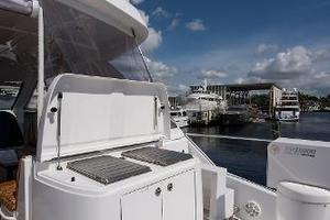 72' Hatteras 72 2008 Boat Deck Grill