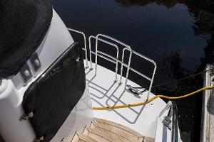 73' Hatteras 72 Motor Yacht 2008 Stairs to Swim Platform Port