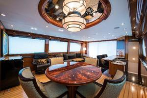 72' Hatteras 72 Motor Yacht 2008 Dining Area Aft