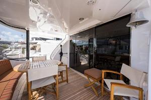72' Hatteras 72 Motor Yacht 2008 Aft Deck to Port