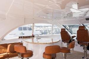 72' Hatteras 72 Motor Yacht 2008 Flybridge Bar