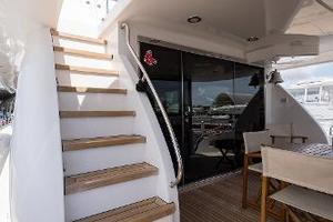 72' Hatteras 72 Motor Yacht 2008 Aft Deck Stairs