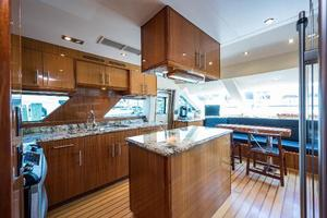 72' Hatteras 72 Motor Yacht 2008 Galley Forward